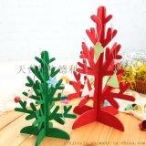 厂家定制红色彩色圣诞树 圣诞小挂件