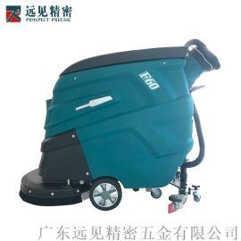 手推式洗地机 工厂**车库清洗吸干全自动洗地车