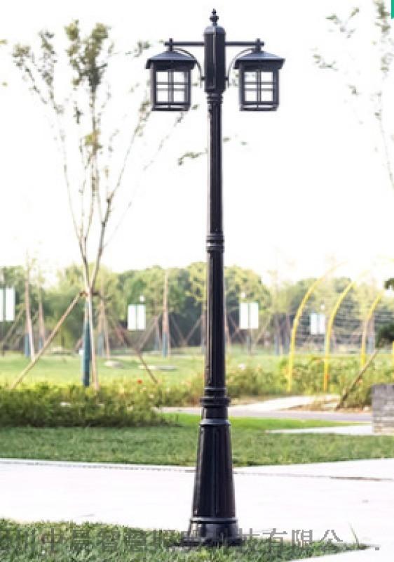 四川中晨雙頭現代庭院燈led路燈高杆燈