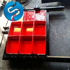 铸铁镶铜方闸门 手电两用启闭机