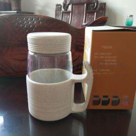 随手杯带把水杯办公水杯过滤网杯子泡茶瓶家用花茶瓶