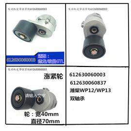 适用WP12 612630060003皮带张紧轮