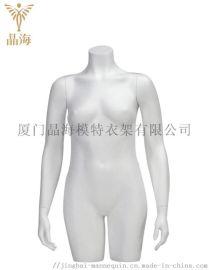 橱窗服装假人半身模特道具