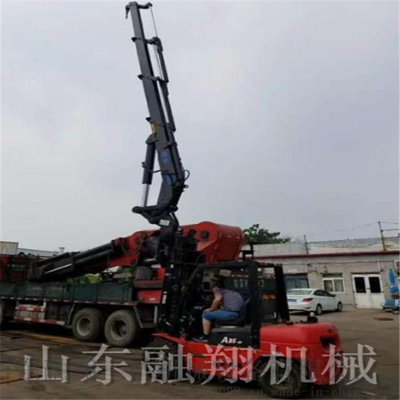 多功能伸缩臂叉车吊 可定制飞臂叉车吊价格