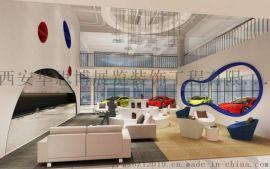 西安地产展厅设计,西安房地产展厅设计制作