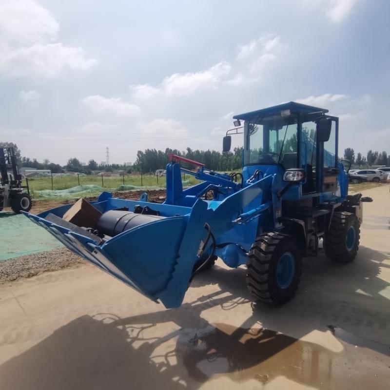 直销液压轮式两头忙 挖掘装载机 农用两头忙