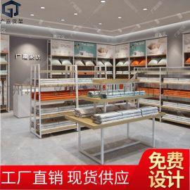 家纺货架展示架 枕头被子床上用品饰品店货架展示架