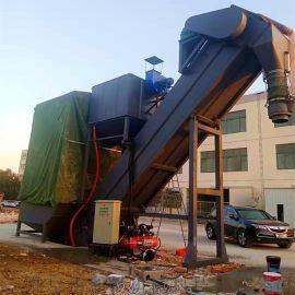 安徽集装箱粉煤灰卸车机 翻箱卸灰机 散水泥拆箱机