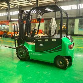 液压电动堆高车 电叉车小型1吨2吨环保电动叉车厂家