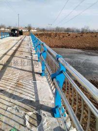 公路防撞护栏桥梁护栏不锈钢复合管护栏
