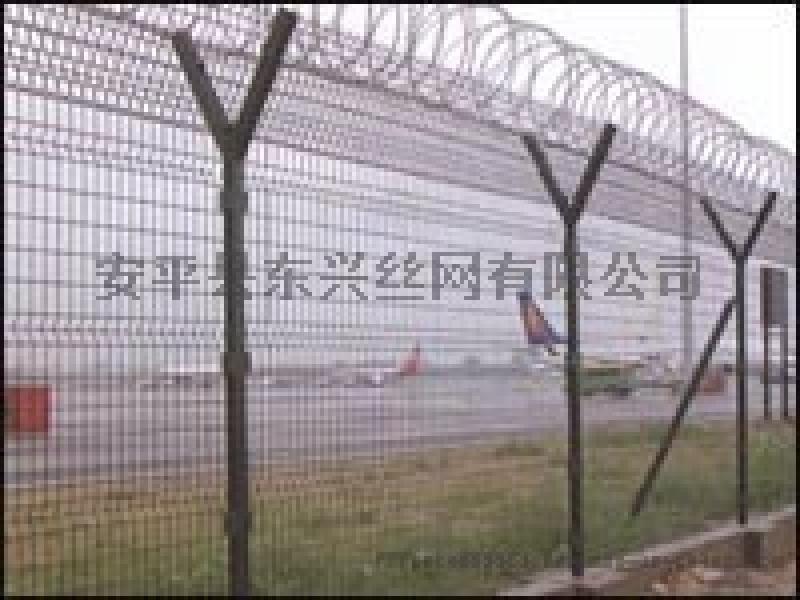 机场Y型护栏网/Y型安全防御网/机场Y型柱防护网