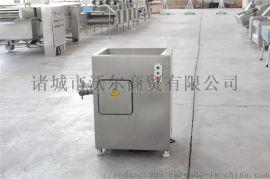 商用大型绞肉机 全自动多功能冻肉鲜肉不锈钢绞馅机