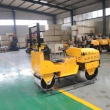 厂家小型双钢轮压路机 全液压1-6吨座驾式压实机