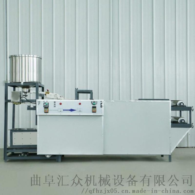 山东全自动豆腐皮机 做豆皮机器价格 利之健lj 多