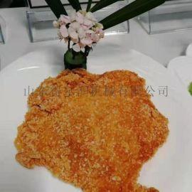 鸡排上浆裹粉机设备 卡兹脆鸡排上粉裹糠机