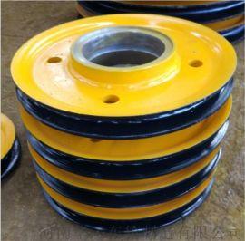 20t单双梁行车滑轮组 起重机热轧滑轮组 导向轮