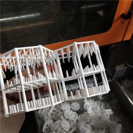 VO级阻燃PP蓝泰克组合填料气提塔高效Q派克填料