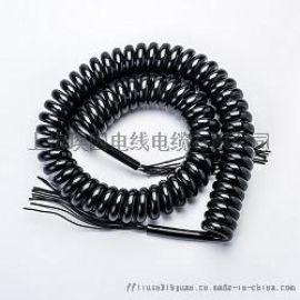 美标认证弹簧线,螺旋线,弹簧线电源线