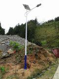 茂名太陽能路燈安裝現場