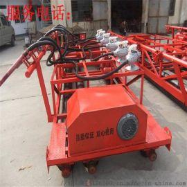 自走式三辊轴摊铺机 3滚轴振动整平机 混凝土整平机
