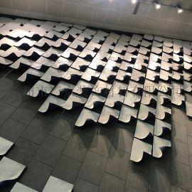 背景墙造型铝单板异形铝天花