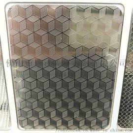 贵阳不锈钢方格板 不锈钢压花板定制