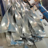 運城吊頂木紋造型鋁方通 漳州仿木紋弧形鋁方通吊頂
