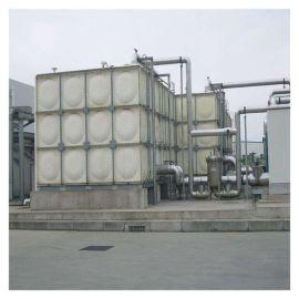 高层水箱抗震能力强 霈凯 玻璃钢临时水箱