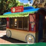 加长款餐厅厨房一体移动售卖车-多功能小吃售卖车