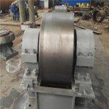 耐磨损抗压能力强的带加强筋的干燥机托轮