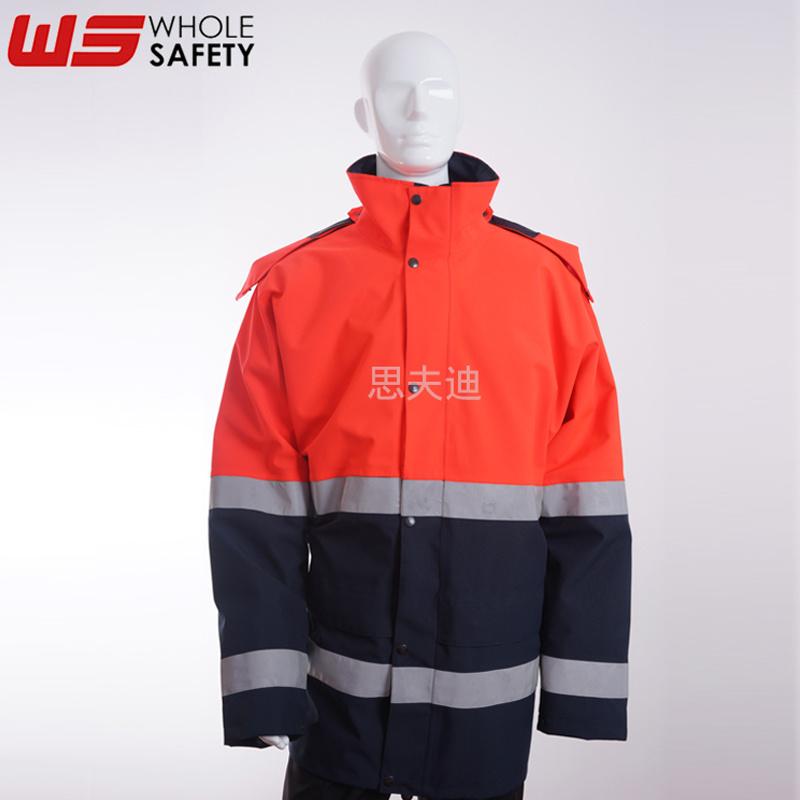 思夫迪供应高能见度防风夹克 定制防风防水透气夹克