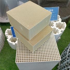 定制莫来石蜂窝陶瓷载体蜂窝陶瓷填料按客户要求