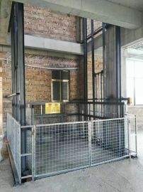 江门鸿力导链式升降货梯3T升9米 专业定做厂家