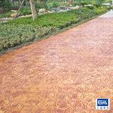 水泥压印地面 彩色水泥压印地面 水泥压印地面施工
