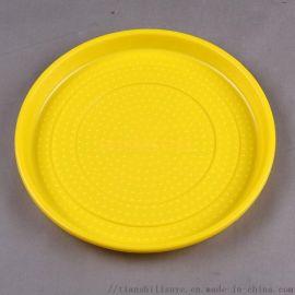 小鸡开始盘 圆形小鸡开食盘 塑料圆形开食盘