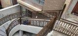 304不锈钢旋转楼梯坡道扶手