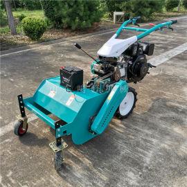 玉柴动力自走式割草机,杂草粉碎还田割草机