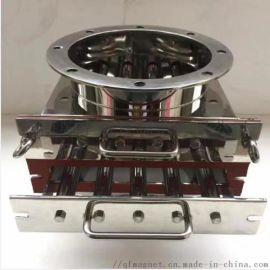 磁棒管道式流体除铁器