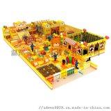 厂家定制儿童乐园室内设备儿童室内游乐设备马卡龙淘气堡室内游乐场积木乐园