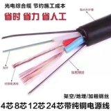 24芯單模加2*1.5平方電線國標復合光纜
