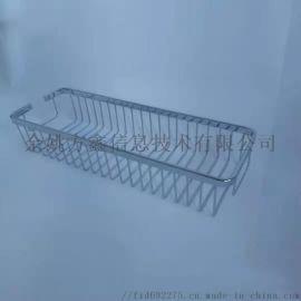不锈钢置物架浴室长方网篮架壁挂卫生间浴浴房置物架