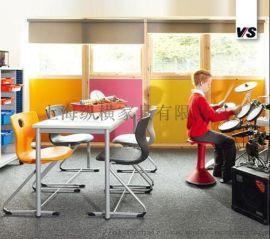 德国原装进口VS国际**家具学生课桌椅培训椅餐椅塑胶椅