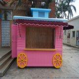 粉色少女主题商品售 亭