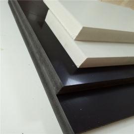 PVC双面结皮发泡板 PVC塑胶板 家具厨卫板