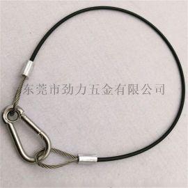 钢丝绳索具吊绳安全绳安全拉索