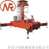 耐用型倉庫套缸式升降機 小型升降平臺 高空作業車