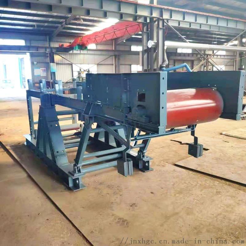 砂石胶带输送机可定做 无锡钢厂1.2米胶带输送机