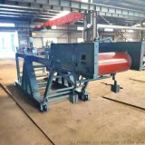 砂石膠帶輸送機可定做 無錫鋼廠1.2米膠帶輸送機