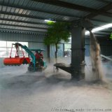挖沟机 国产小型轮式挖掘机 六九重工 农用果园小型