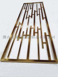 高端定製不鏽鋼鏡面屏風